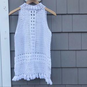 525 America Crochet Halter Top | NWT